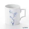 Meissen Blue Orchid blue florals play 830501 / 55810 Mug 0.24 L / height 9 cm