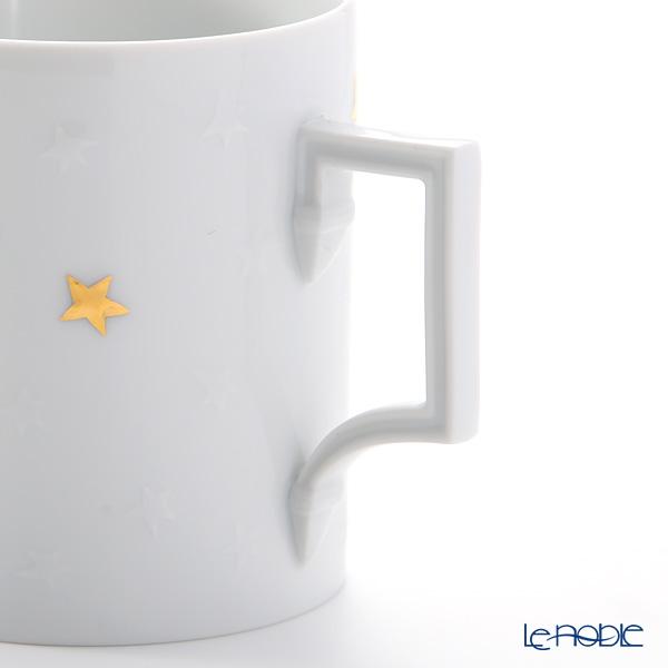 マイセン(Meissen) 星のきらめき 99A318-55320マグ 0.24L/高さ9cm