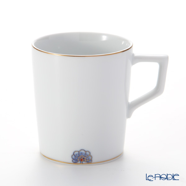 マイセン(Meissen) ノーブルブルー 802590-41575マグ 9cm/250ml (ペタルロゼット)
