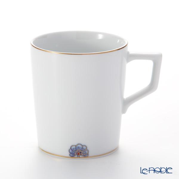 マイセン(Meissen)ノーブルブルー 802590-41575 マグ 9cm/250ml (ペタルロゼット)