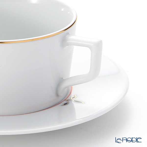 マイセン(Meissen) ノーブルブルー 802490-41633(98A077-41623/562)ティーカップ&ソーサー 150ml (ブロッサムツィッグ)
