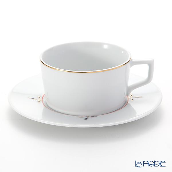 マイセン(Meissen)ノーブルブルー 802490-41633(98A077-41623/562) ティーカップ&ソーサー 150ml (ブロッサムツィッグ)