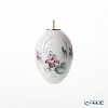 Meissen 'Woodland Flora with Insects' [No.8 Violet] 61C008/55M03 Easter Egg H5cm