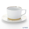 Meissen 'Swords' Luxury Gold 99A370/41584 Coffee Cup & Saucer 200ml