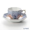 マイセン(Meissen) リミテッドエディション 408074/55836(LE2018)オクタゴナルカップ&ソーサー(ブルー)