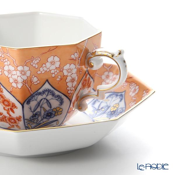マイセン(Meissen) リミテッドエディション 408174/55836(LE2018)オクタゴナルカップ&ソーサー(レッド)