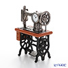Chic Mic 'Antique Sewing Machine' CH18857 Miniature Clock