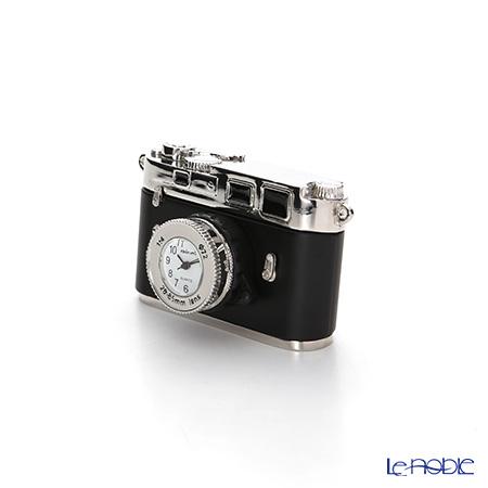 チックミック ミニチュア置時計 CH18862 カメラ ライカ型