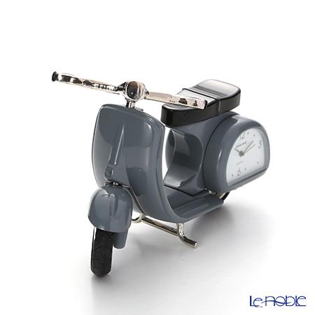 チックミック ミニチュア置時計 CH18866 オートバイ グレイ