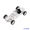 Chic Mic 'Racing Car' Silver CH18917 Miniature Clock