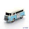 Chick Mic Nostalgic Bus, blue, miniature table clock CH18918
