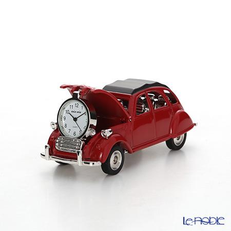 チックミック ミニチュア置時計 CH18926 クラシックカー レッド