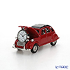 Chick Mic Classic Car Red, miniature table clock CH18926