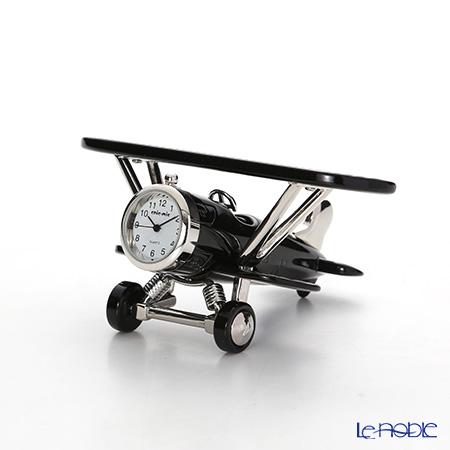 チックミック ミニチュア置時計 CH18928 飛行機/複葉機