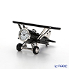 Chick Mic Airplane / Biplane, miniature table clock CH18928