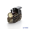 Chick Mic locomotive, bronze, miniature table clock CH18934