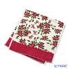 Feiler 'Miriam (Flower) White' Cherry Pink Guest Towel 37x80cm