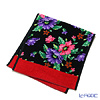 Poppy Feiler hand towel Black / Red 37 x 80 cm