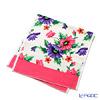 Feiler 'Poppies (Poppy Flower) White' Pink Guest Towel 37x50cm