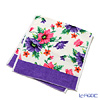 Poppy Feiler hand towel White / 37 x 80 cm purple