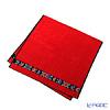 Feiler 'Anemone (Flower) Black' Red Bath Towel 75x150cm