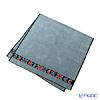 Feiler 'Anemone (Flower) Black' Dark Grey Bath Towel 75x150cm