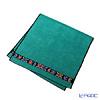 Feiler 'Anemone (Flower) Black' Emerald Green Bath Towel 75x150cm