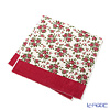 Miriam Feiler bath towel White / cherry 75 x 150 cm