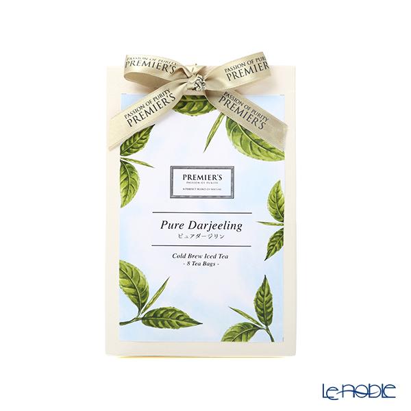プリミアスティー 水出し紅茶(400ml 用) コールドブリュー ピュアダージリン 8TB 【高圧蒸気殺菌処理済】