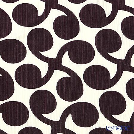 むす美 風呂敷 綿100% 日本製 20479-101チーフ伊砂文様両面ふろしき 新芽 ムラサキブルー 48cm
