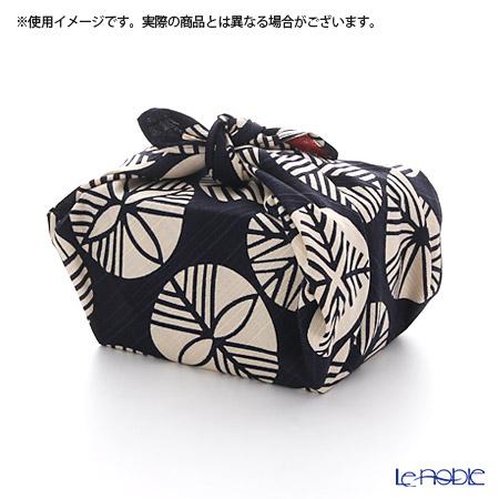 むす美 風呂敷 綿100% 日本製 20479-107チーフ伊砂文様両面ふろしき 松 テツアカ 48cm