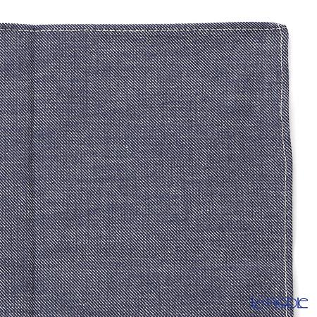 むす美 風呂敷 綿100% 日本製 20367-10150 ソフトデニムふろしき ブルー 50cm