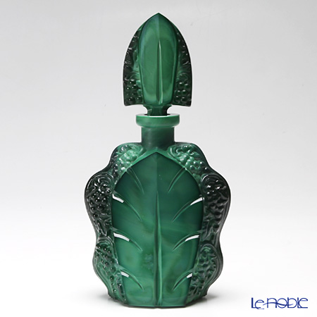 Frantisek Halama 'Vintage' Jade Green FH-1926JA Liqueur Glass & Decanter (set of 7 for 6 persons)
