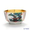 Hakuichi x Kutani Ware / Gold Leaf 'Shouza pattern' Gold Hexagonal Sake Cup