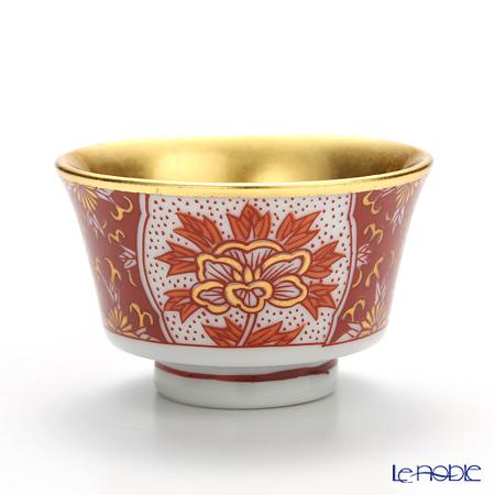 Hakuichi Kutatani porcelain Sake Cup, Hachiro pattern A131-03036