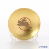 Hakuichi / Gold Leaf 'Eto / Zodiac - Rabbit' Gold & Red Sake Cup 8cm