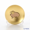 Hakuichi / Gold Leaf 'Eto / Zodiac - Sheep' Gold & Red Sake Cup 8cm