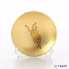 Hakuichi / Gold Leaf 'Eto / Zodiac - Monky' Gold & Red Sake Cup 8cm