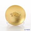Hakuichi / Gold Leaf 'Eto / Zodiac - Boar' Gold & Red Sake Cup 8cm