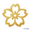 箔一 アニバーサリー金箔食用金箔 金の舞 桜 D14-6005 4枚入