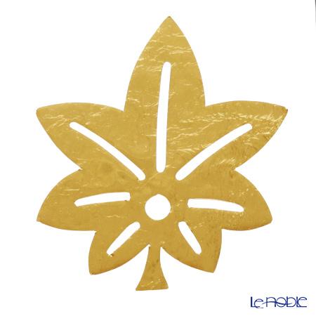 箔一 アニバーサリー金箔食用金箔 金の舞 紅葉 D14-600M 4枚入