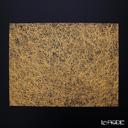 箔一 きらめくランチョンマット(金) 31.5×45cm A161-01014