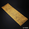 Hakuichi x Kutani Ware / Gold Leaf 'Kirameku / Sparkling' Gold Table Runner 100x32cm