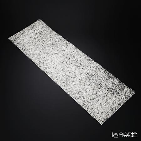 箔一 きらめく テーブルランナー(銀) 32×100cm A161-01011