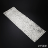 Shimmering gold-leaf A161-01011 Table Runner (Silver) 32 x 100 cm