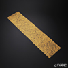 Shimmering gold-leaf A161-01012 Table runner fine (Friday) 20 x 80 cm