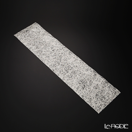 箔一 きらめくテーブルランナー細(銀) 20×80cm A161-01013