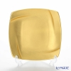 Hakuichi / Gold Leaf 'Muku / Innocent - Square' Gold Cake Plate 14.5x14.5cm