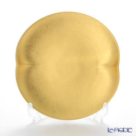 箔一 無垢 オーバルケーキプレート 14.7×15.6cm A161-05004