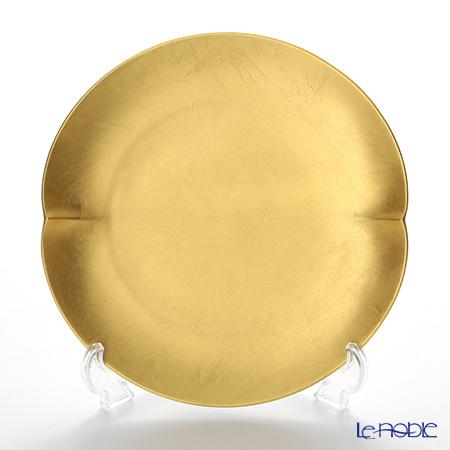 箔一 無垢 オーバル デザートプレート 21×20cm A161-05005